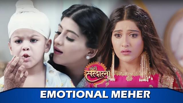 Future Story : Meher refuses to kiss Sarabjit lose carom challenge in Choti Sardarni