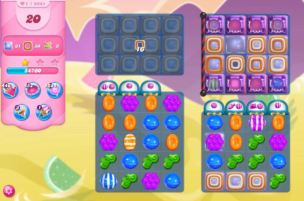 Candy Crush Saga level 9941