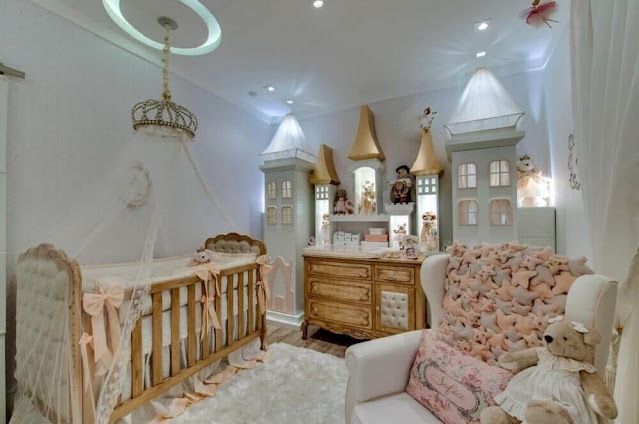 The little details in the feminine baby room decor can make all the difference