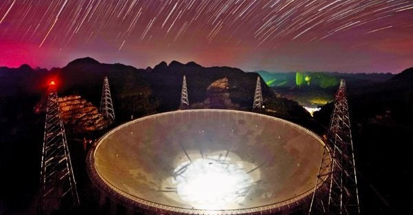 Five-hundred-meter Aperture Spherical Radio Telescope (FAST)