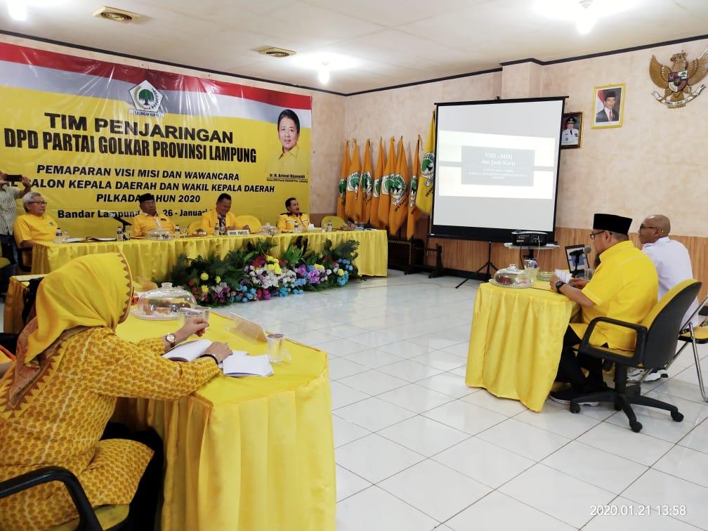 Paparkan Visi Misi, TEC Siap Berikan Pengabdian Terbaik Untuk Kabupaten Lampung Selatan