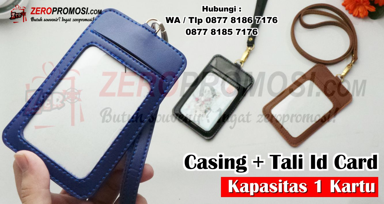 ID Card Holder,  Casing Id Card Kulit Online berkualitas, Gantungan Id Card kulit Case Id Card kulit Name Tag kulit, Frame Casing Id Card Kulit, Paket Casing ID Card Kulit Potrait dengan Tali Kait, Card holder Leather