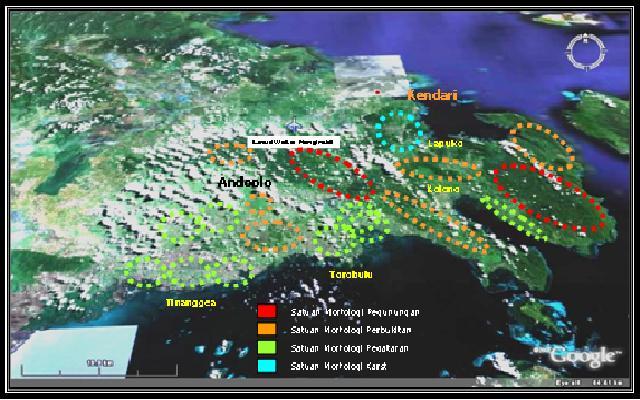 peta digital peta kabupaten konawe provinsi sulawesi