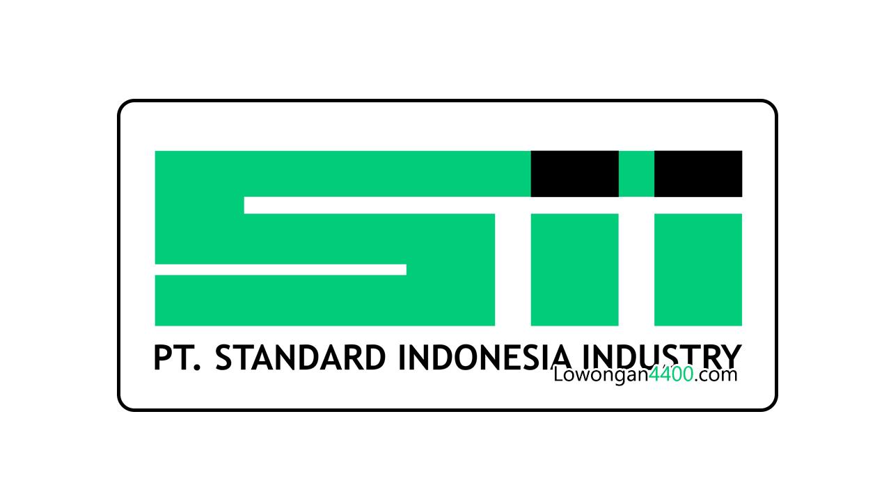 Lowongan Kerja Operator PT. Standard Indonesia Industry