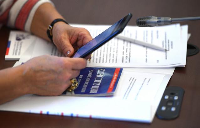 Нажми на кнопку смартфона – проголосуй за поправки в Конституцию: вся подноготная электронного голосования