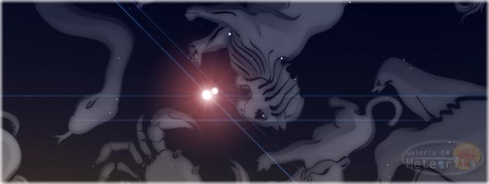 duas estrelas juntas no céu do dia 30 de junho de 2015