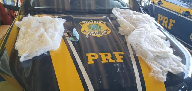 PRF prende traficante com cocaína líquida na BR-364