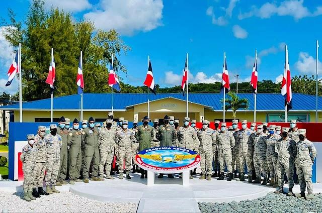 Academia Aérea de la FARD celebra misa en honor al 37 aniversario de su fundación