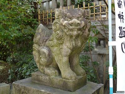 三光神社狛犬