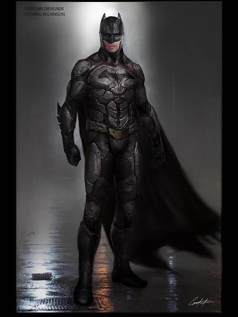 Diseño alternativo para el traje de Batman