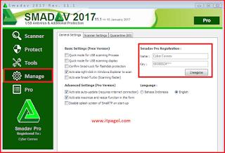 SmadAV Pro Antivirus 2017 convert into Pro Version.