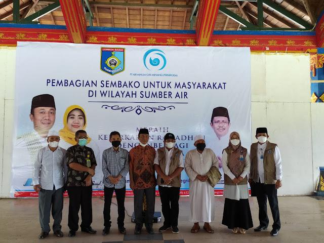 Menggerakkan Ekonomi Masyarakat,Bupati Fauzan Khalid Mengajak Kepala Desa dan ASN Lakukan Ini