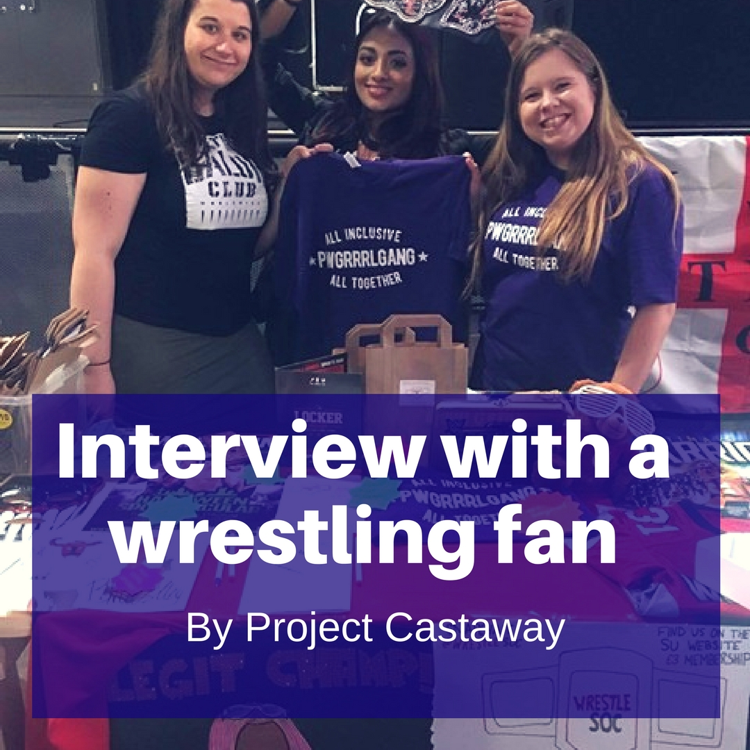 Interview with a huge wrestling fan