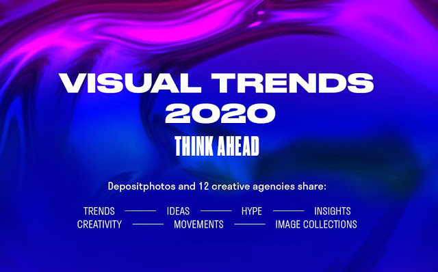 The 2020 Visual Trends #Infographic