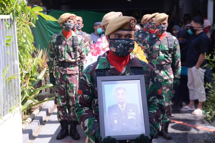 Kodam Hasanuddin, Kehilangan Sosok Prajurit Yang Ulet, Pangdam Andi Sumangerukka Berbela Sungkawa