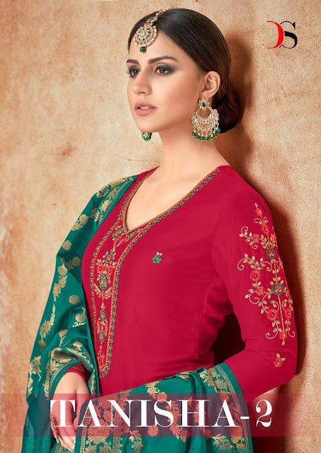 Deepsy Tanisha vol 2 bridal Salwar Kameez Wholesaler