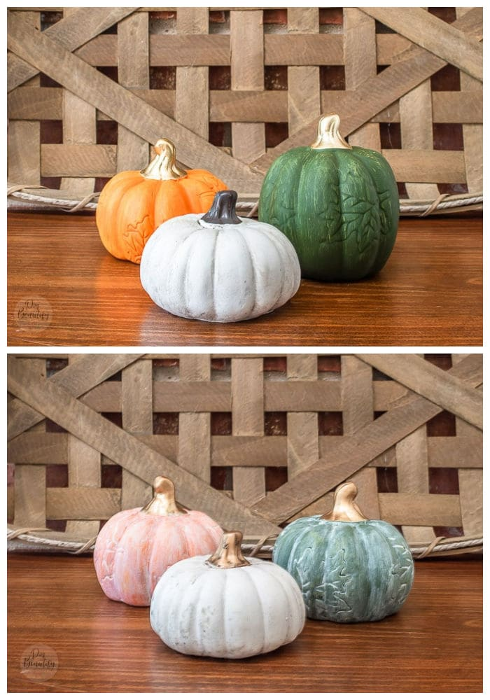 pumpkin trio before and after