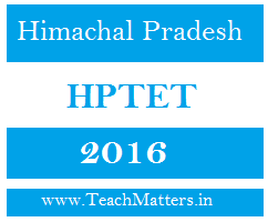 image : HPTET 2016 : Exam Date & Admit Card @ TeachMatters