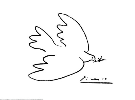 Ms. Potter's Art Room: Picasso's Dove of Peace