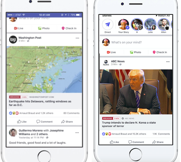 Facebook, the social media giant, is working on a new feature that will enable the users to stay updated with a particular breaking news story.