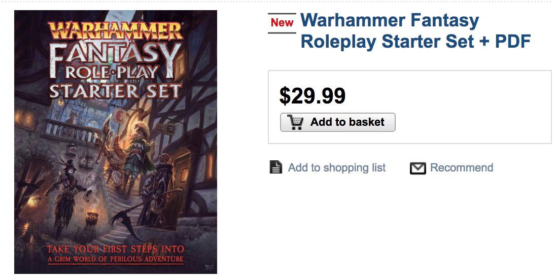 Warhammer Fantasy Rollenspiel Pdf