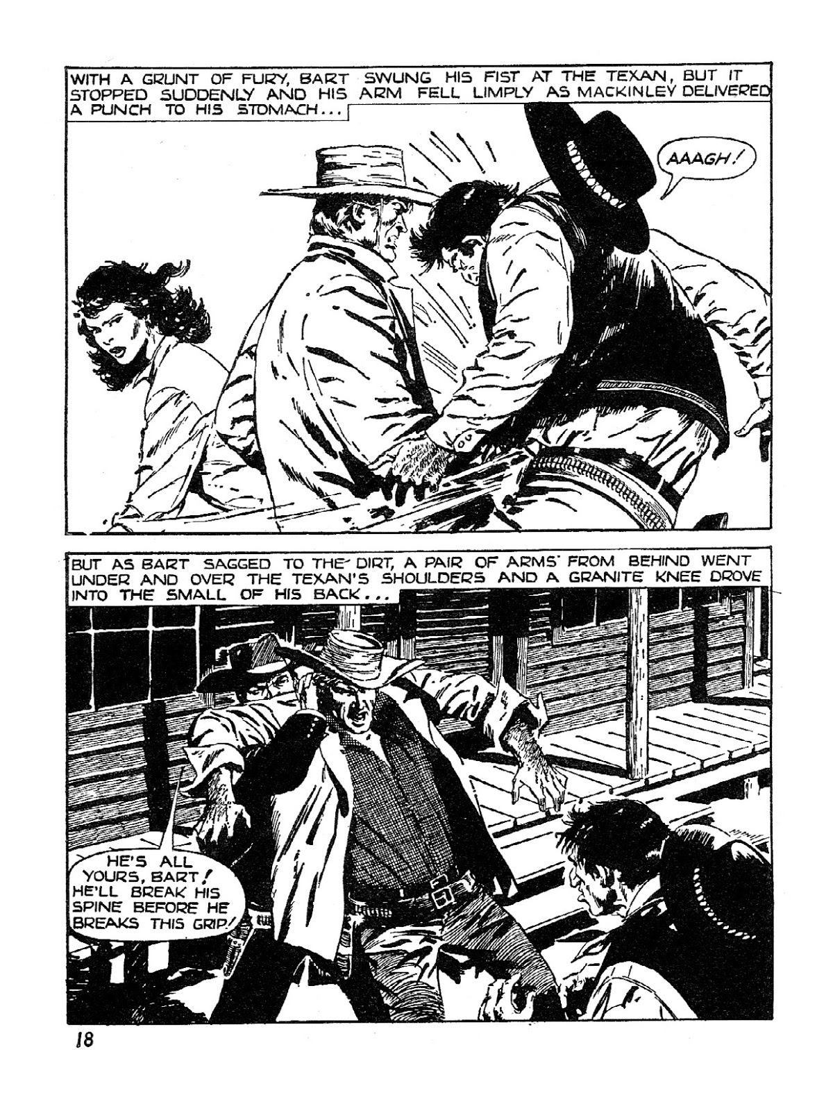 Old Fashioned Comics Wild West Picture Library 001