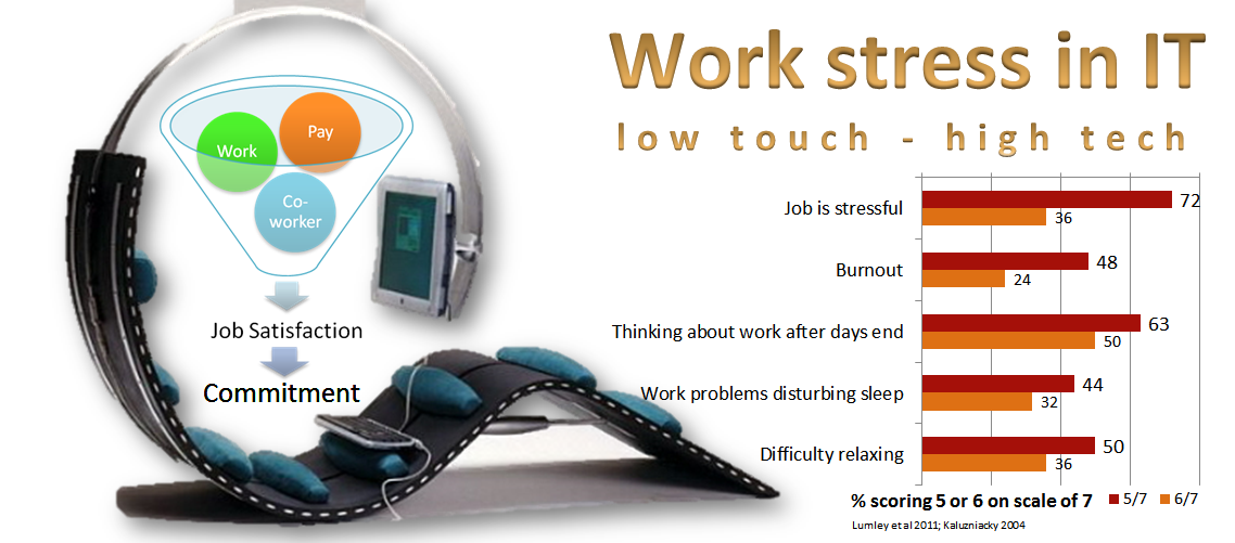 job satisfaction and work stress in IT