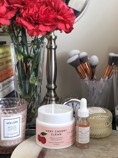 Farmacy Very Cherry Clean Cleansing Balm | bellanoirbeauty.com