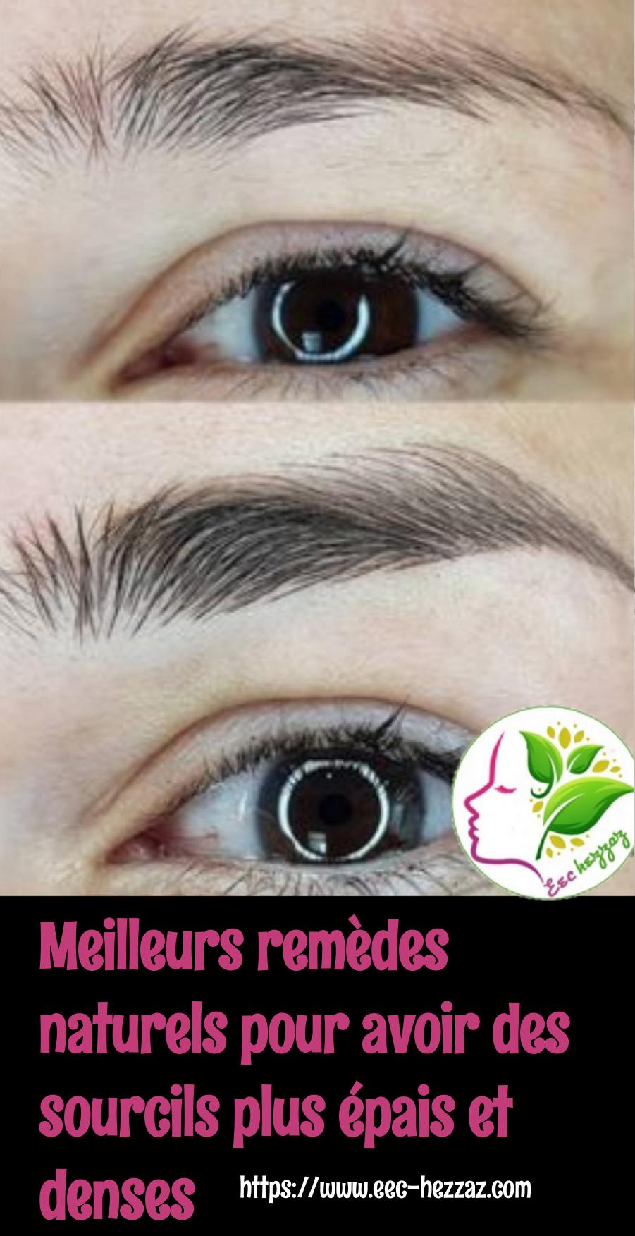 Meilleurs remèdes naturels pour avoir des sourcils plus épais et denses