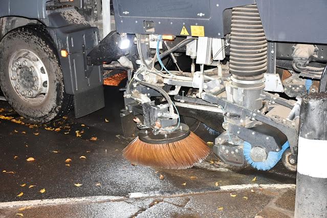 Nairobi Metropolitan Services(NMS) sweeper machine