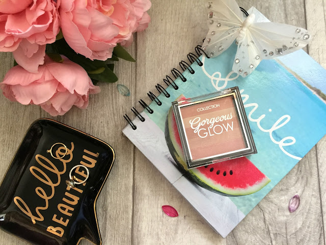 collection gorgeous glow blush block review