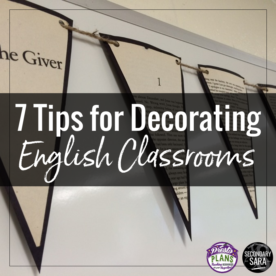Classroom Decoration Ideas For Grade 4 ~ Tips for decorating english classrooms teens