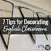 7 Tips for Decorating English Classrooms for Teens