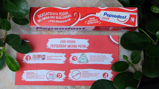 Keunggulan produk Pepsodent edisi merdeka