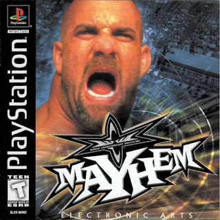 WCW Mayhem - PlayStation1 Review - Game Cover