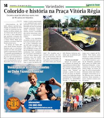 Jornal da Cidade de Holambra, edição 1095, página 14.