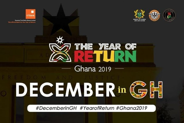 December In Ghana: 'The Year Of Return' Committee Unveils Over 30 Events