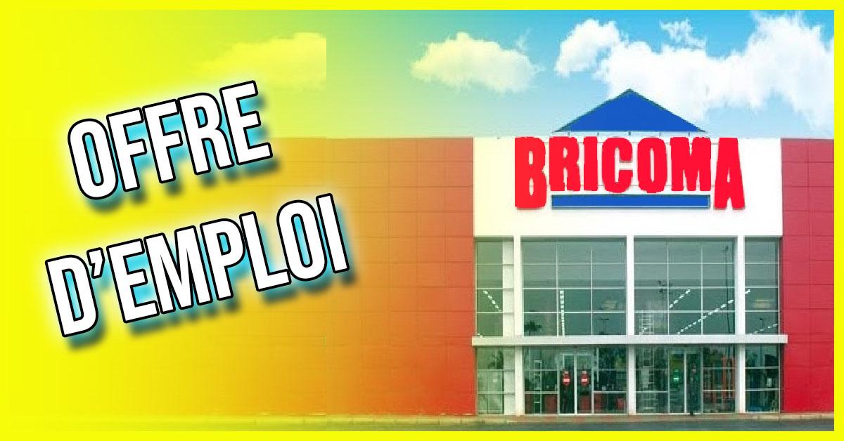 BRICOMA recrute des profils Avec Bac 2