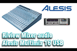 Riview Mixer audio Alesis Multimix 16 USB