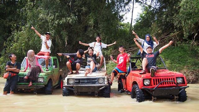Formasi lengkap para peserta Eksplor Dewsita Jogja