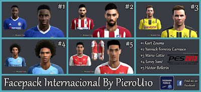 Facepack Internacional By PieroU10