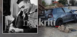 Ηράκλειο: Θρήνος για τον 21χρονο Γιώργο που σκοτώθηκε ανήμερα της γιορτής του