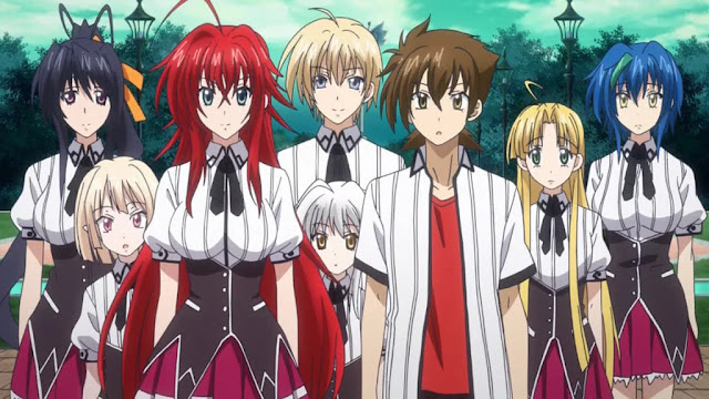 O Anime 'High School DxD' Vai ter uma 5ª temporada?