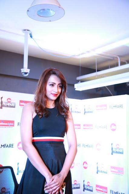 Trisha Krishnan Photo At Jio 65th Filmfare Awards Press Meet