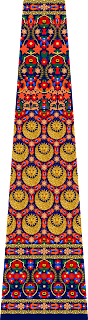 textile digital print Lehenga design