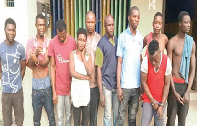 cultists arrested mowe ofada