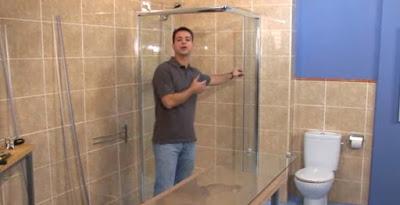 Cómo instalar una mampara de baño por ti mismo