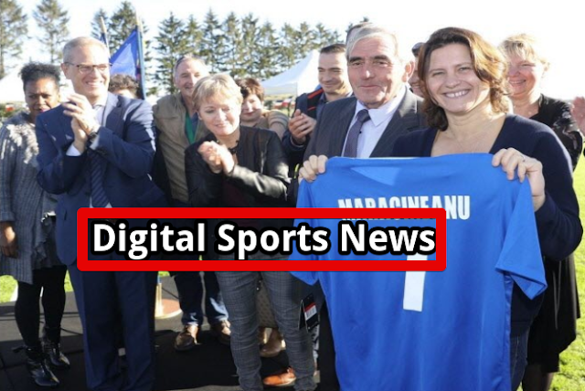 The Minister Of Sports Roxana Maracineanu Was On Saturday Morning In Berrwiller