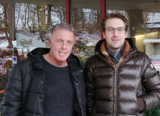 Alexander Tauscher und Kai Reiße