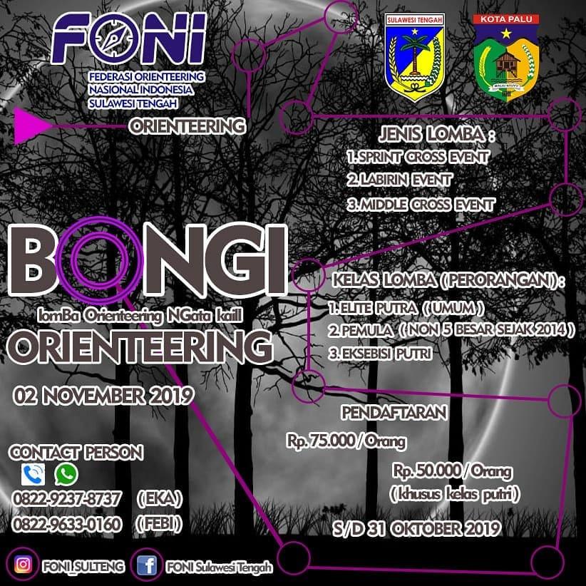 Bongi Orienteering • 2019